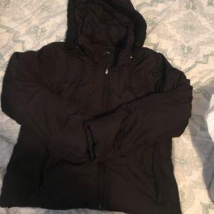 Cute black Ana puffer jacket